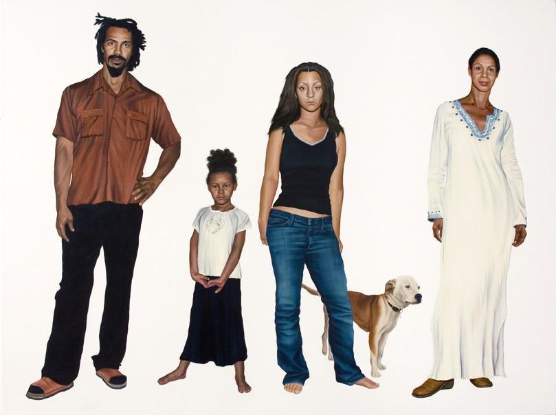 The Konte Family Portrait