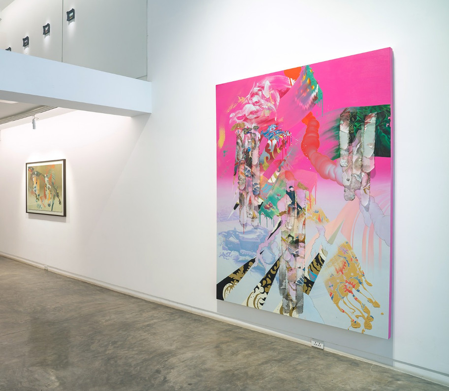 Installation, Galerie Quynh, Ho Chi Minh City, Vietnam