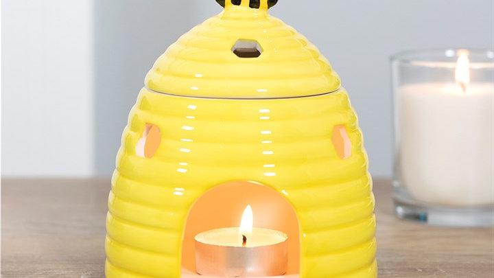 Bee hive burner