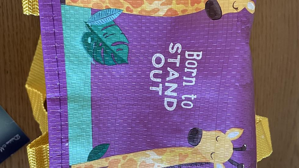 Foldable Lunch Box - Giraffe