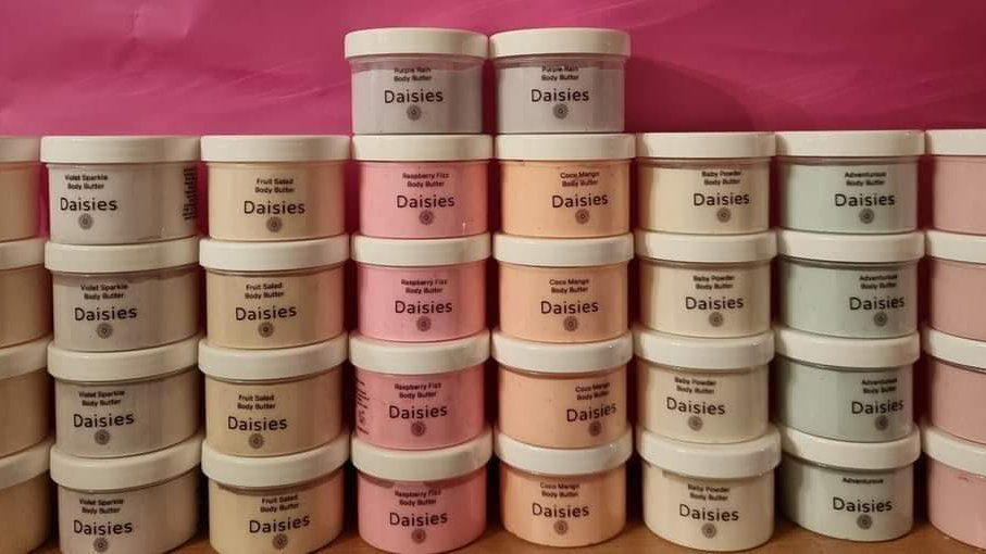 Wholesale - Pack of 10 -Body butters - Large Pot