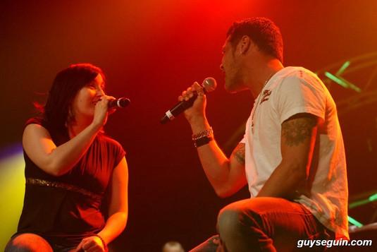 Chantez-nous votre cinéma pour la fibrose kystique, Lachute Natalie Byrns, Emmanuel Auger © Guy Séguin