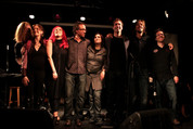 Marc Angers, Émilie Josset, Roxane Filion, Olivier Laroche, Natalie Byrns, Bruno Labrie, Jean-Alexandre Beaudoin, Olivier Couture © Sandra Raymond