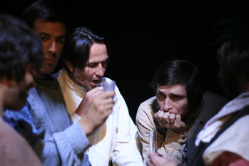 Michael Daniel Murphy, Christian Vézina, Vitali Makarov, Sacha Samar, Serge Groulx © Michel Olivier Girard