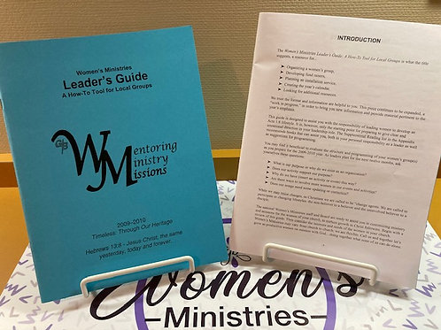 Women's Ministries Leader's Guide