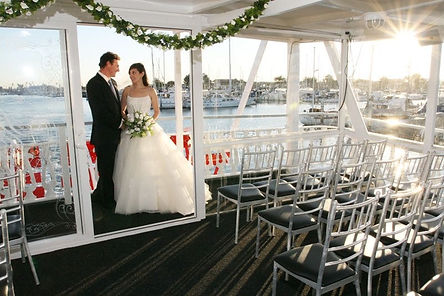 wedding onboard cruise