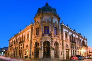 El majestuoso Teatro Macedonio de Oaxaca