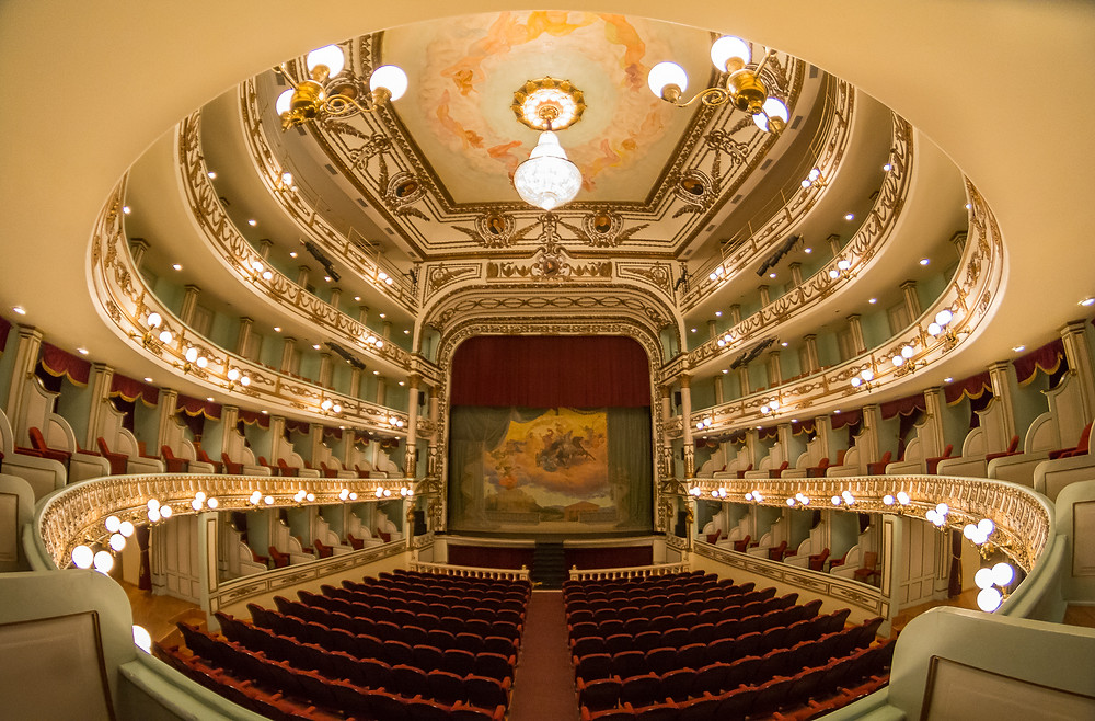 Interior del Teatro Macedonio