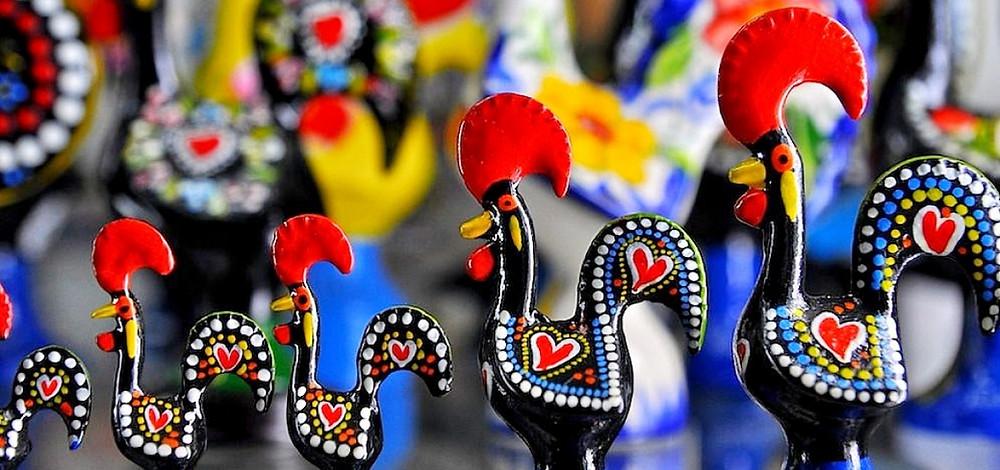 Souvenirs del Gallo de Barcelos