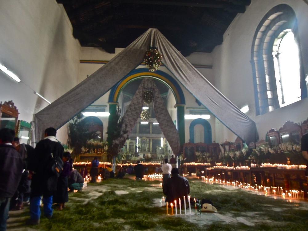 San Juan Chamula interior