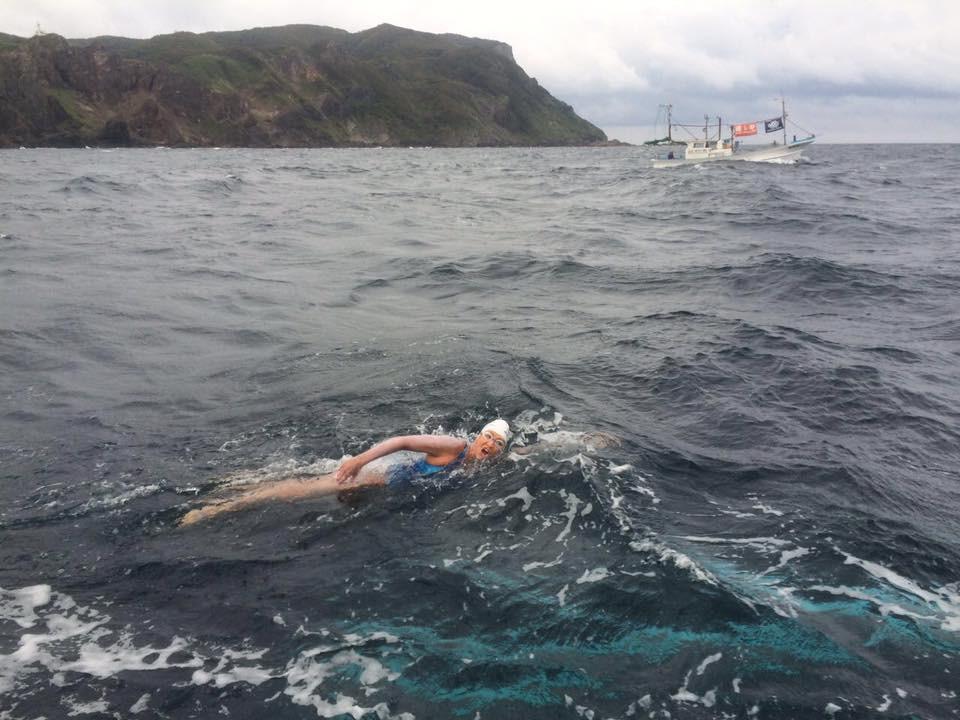 Mariel cruzando el mar