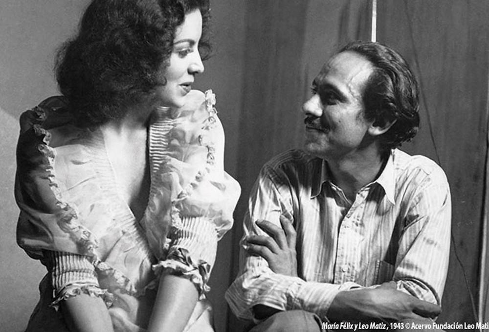 Leo Matiz y María Félix