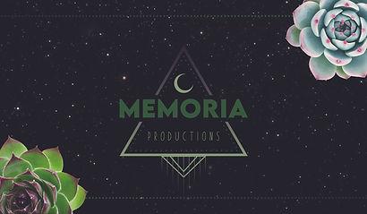 Memoria Productions Business Card BACK.j