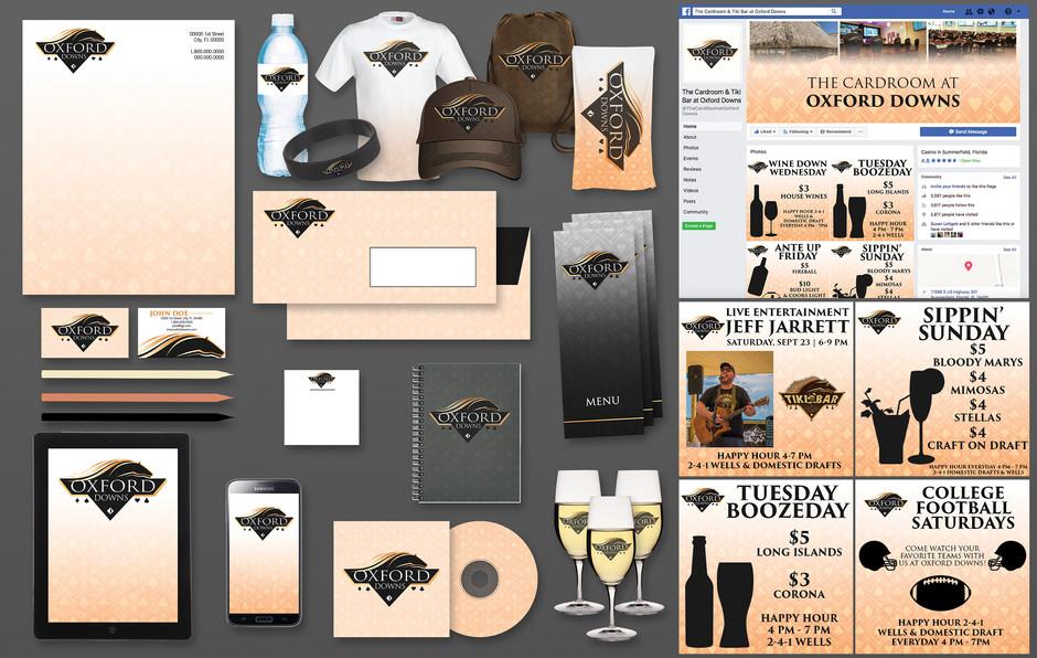Oxford Downs Brand Board