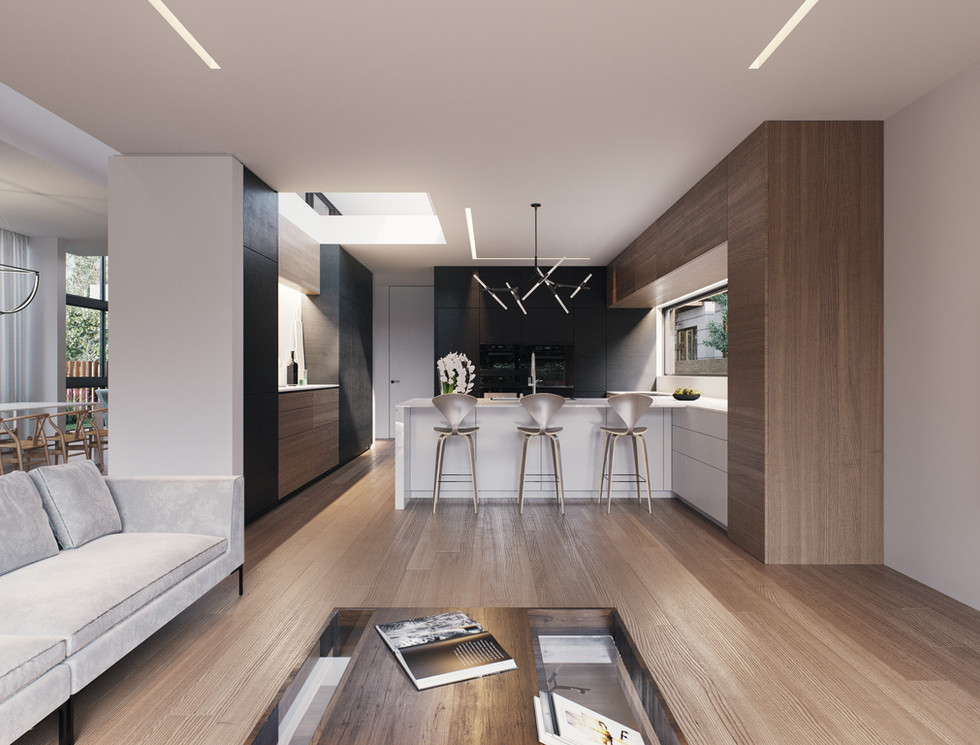 Family Room | Eat-in Kitchen