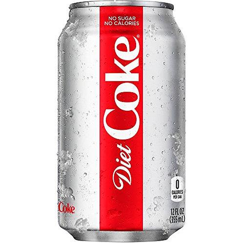 12 oz Diet Coke Soda