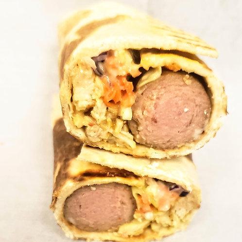 Chicken & Sausage Shawarma
