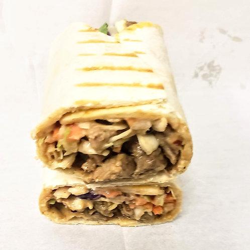 (F) Beef Shawarma