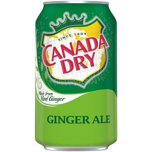 12 oz. Ginger Ale Soda