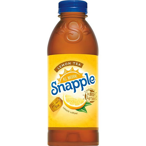 20 oz Snapple Lemon Tea Juice