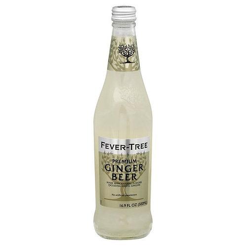 16.9 oz Fever-Tree Ginger Beer