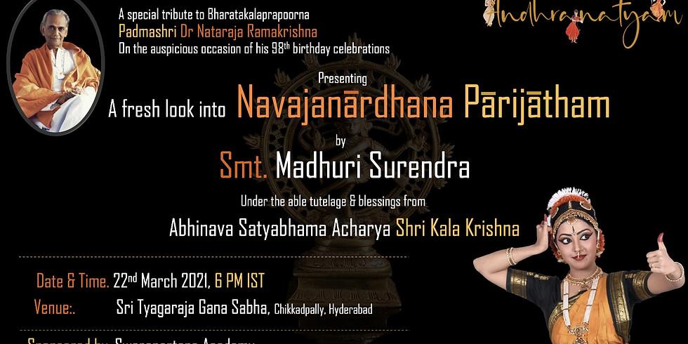 A fresh look into Navajanardhana Parijatham by Smt Madhuri Surendra