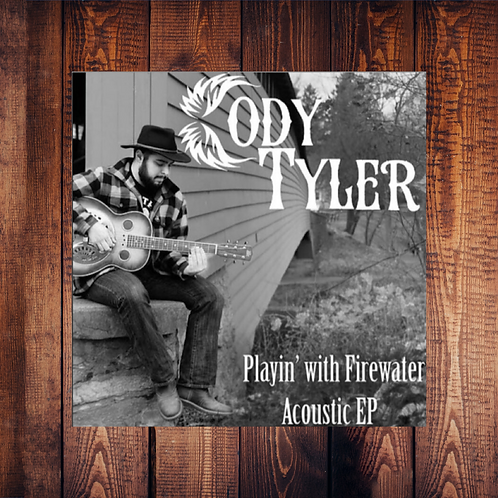 Playin' With Firewater - Acoustic EP - CD