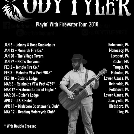 Playin' With Firewater Tour 2018