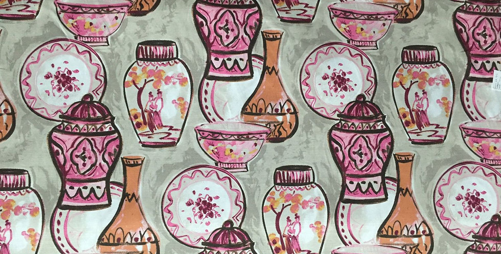 Pink and Orange Vases - Pots - Chinoiserie