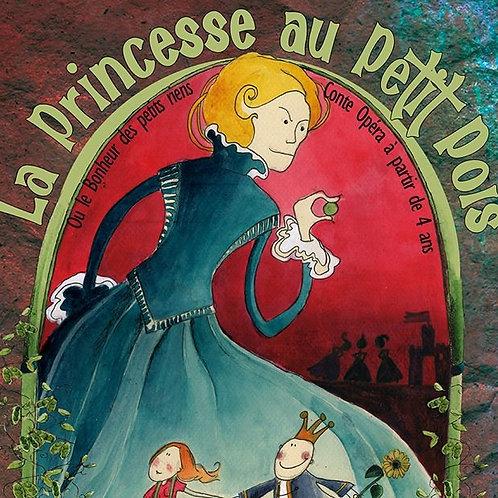 Souscription CD la princesse au petit pois
