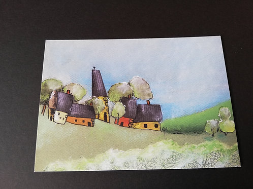"Carte postale ""paysage"""