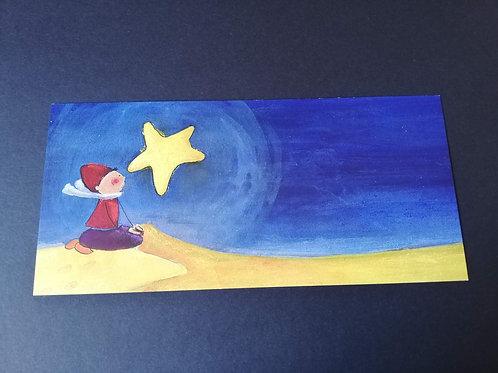 """carte postale """"petit prince"""""""
