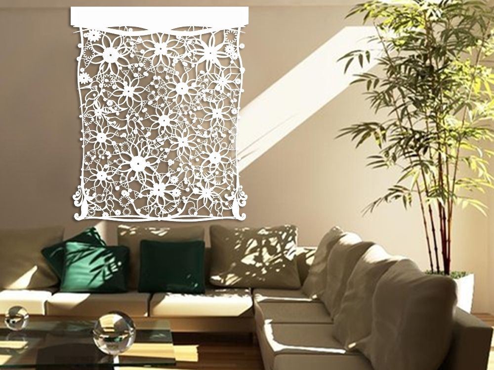 laser-cut-tyvek-wall-decor-floral-design