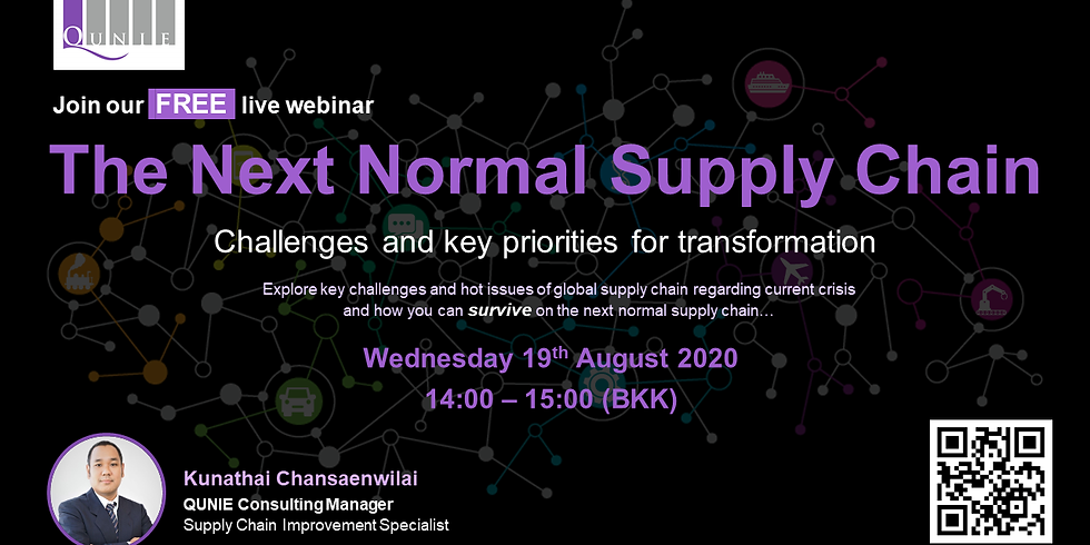 """""""The next normal supply chain : Challenges and key priorities for transformation"""""""