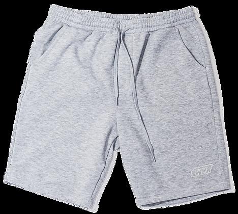 A pair of Grey shorts (reflective)