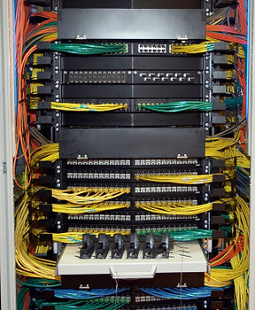 Clean Cabling, Cabling Management, Rack Cabling, Structured Cabling