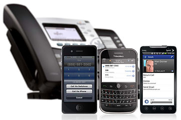 Switchvox Mobility for Iphone, Blackberry and Android devices
