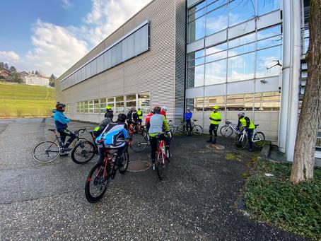 Erste Cycling Unit Ausfahrt 2021- 07.03.2021