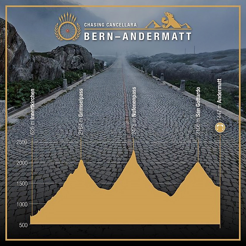 Chasing Cancellara Bern - Andermatt