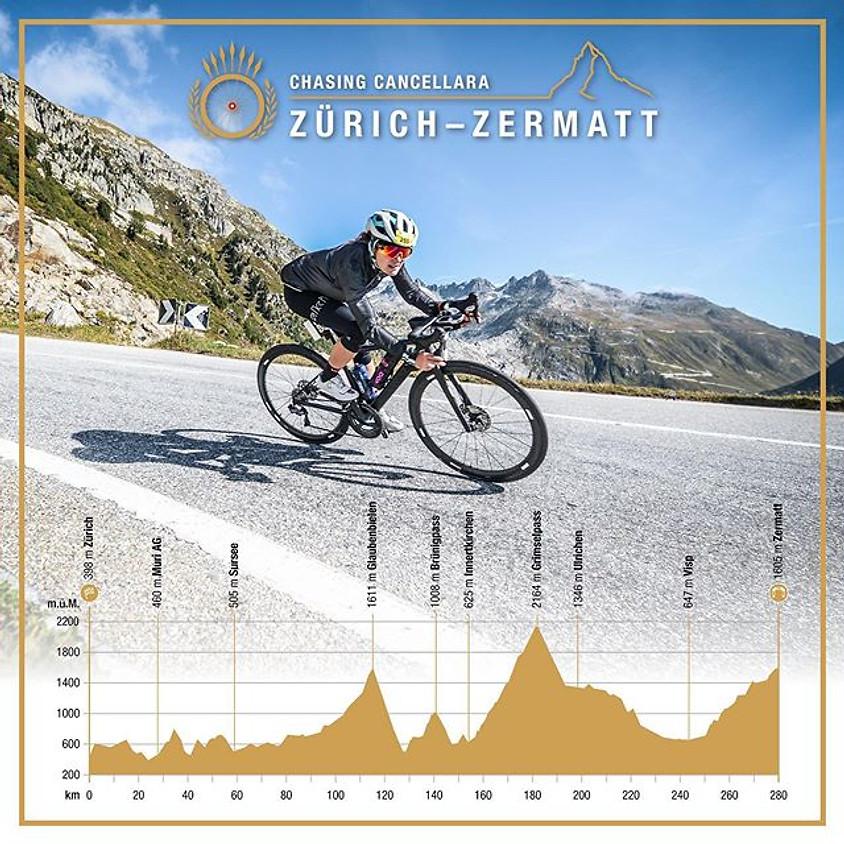 Chasing Cancellara Zürich - Zermatt