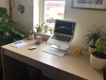 'day in the working life' - planning, doing, and key takeaways.