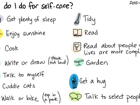 Rethinking self-care