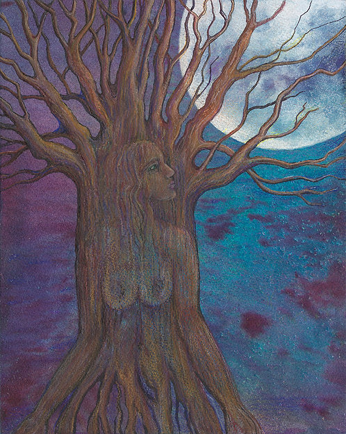 """Spirit of the Trees"" Archival Print"