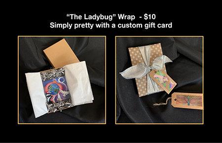 """""""The Ladybug"""" Gift Wrap"""