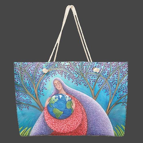 """Earth Prayer: Protection"" - Weekender Bag"