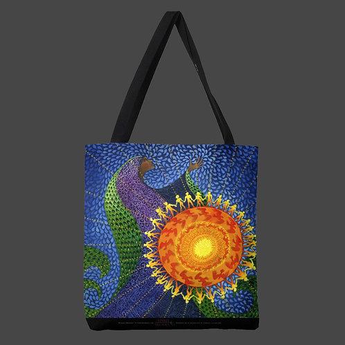 """Earth Prayer: Radiance"" Tote Bag"