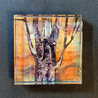"""The Trees Our Friends"" Paperweight"