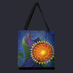 """""""Earth Prayer: Radiance"""" Tote"""