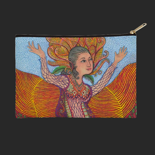 """Sacred Woman""- Zip Bag"