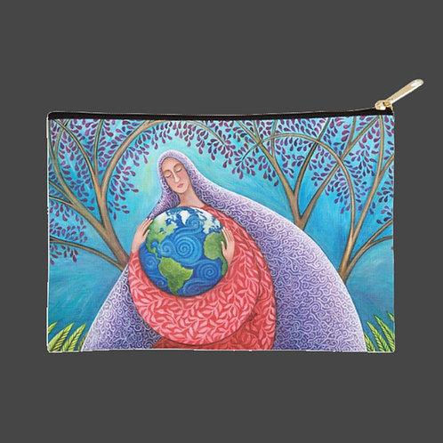 """Earth Prayer: Protection"" - Zippy Zipper Bag"